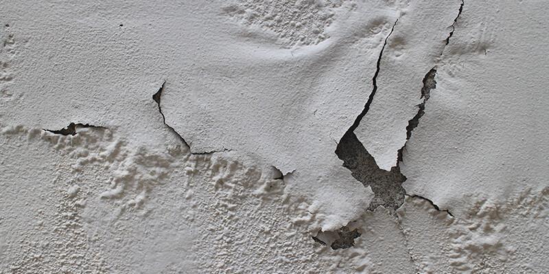 damaged paint
