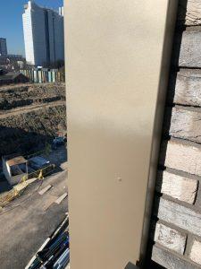 bronze sprayed panels