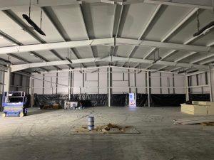 Warehouse Spraying Aberdeen