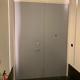 before internal doors