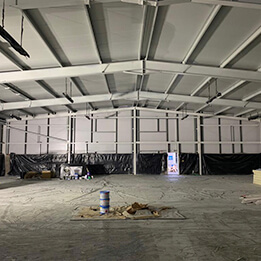 warehouse after