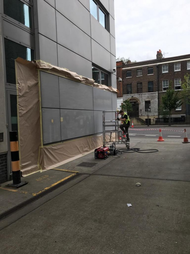 Hackney Library Repair and Respray