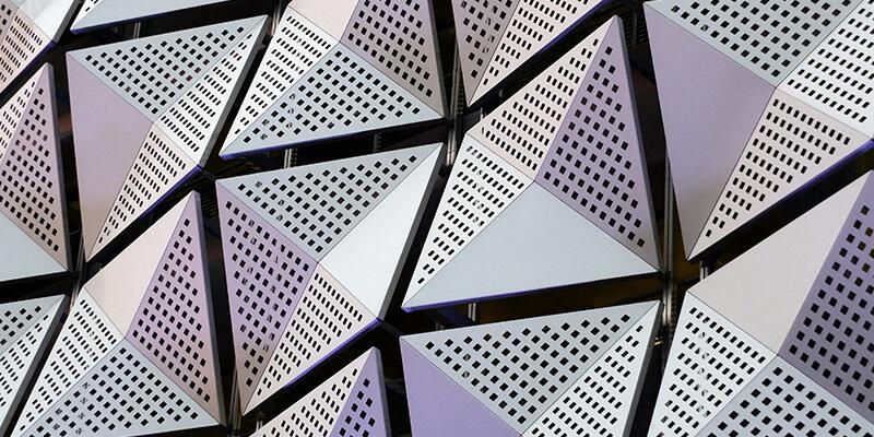 Geometric cladding