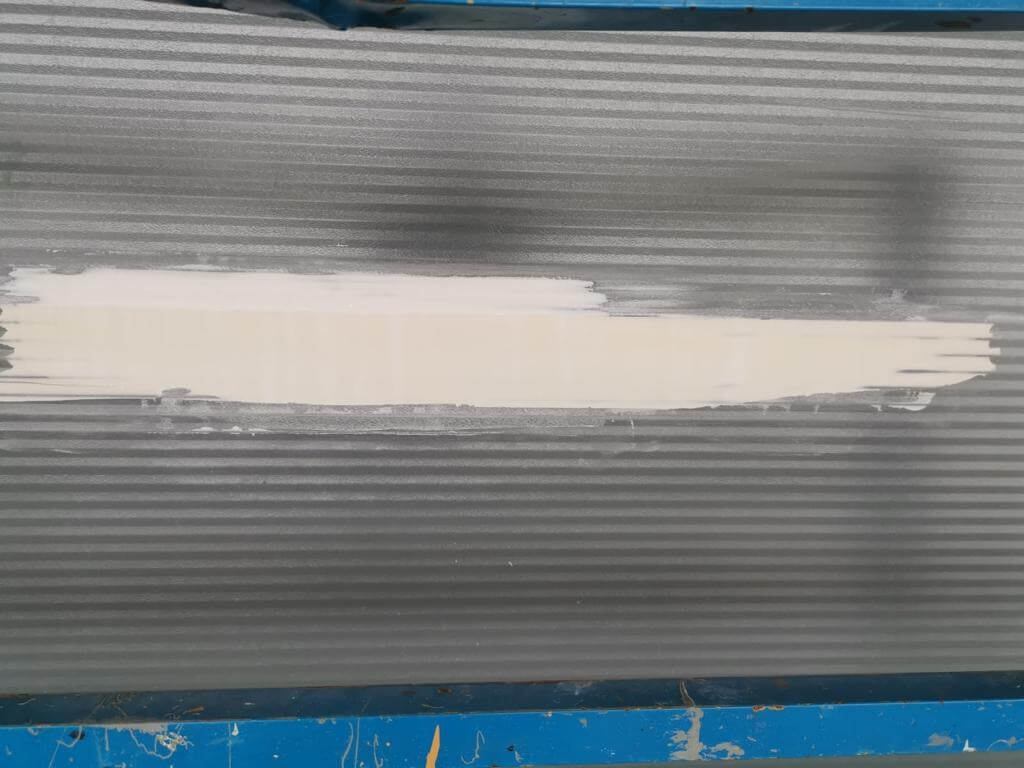 filler on cladding