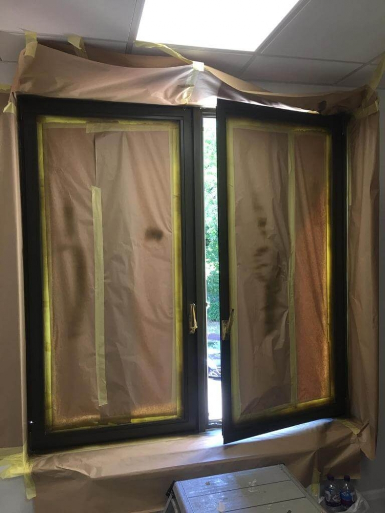 door opened during repair