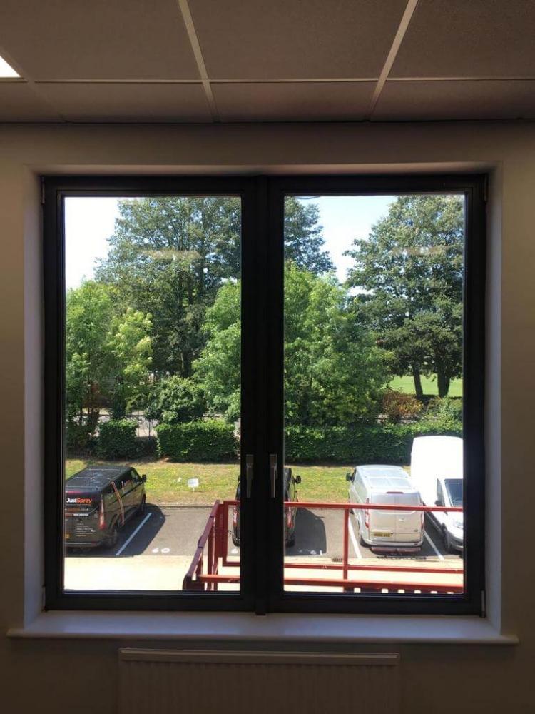 finished door windows