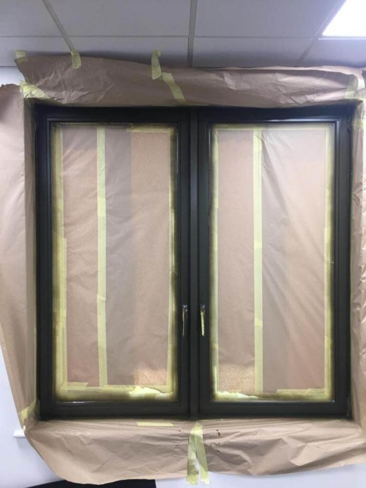 repair of the doors painting
