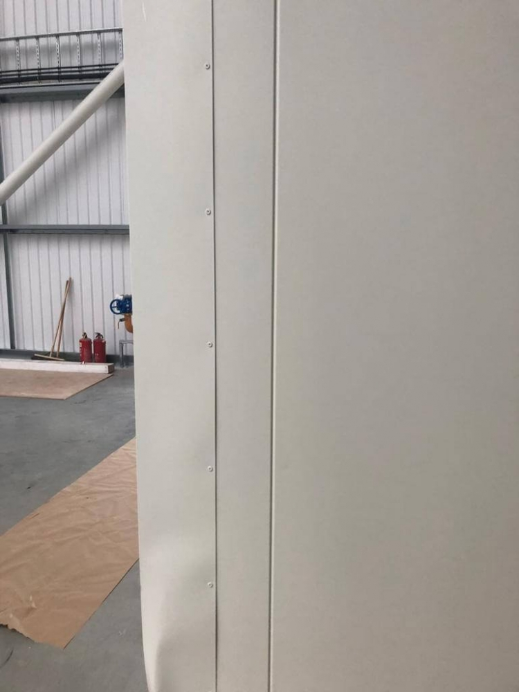 rounded edge cladding repair