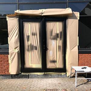 mclaren doors after