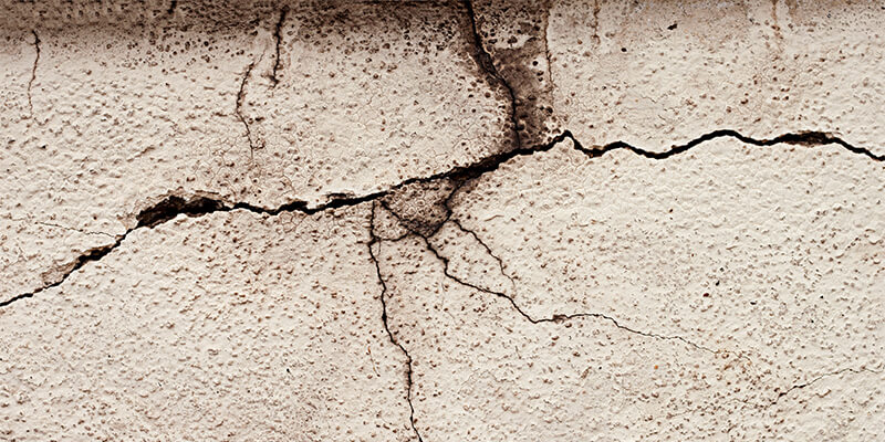 Cracked Cladding