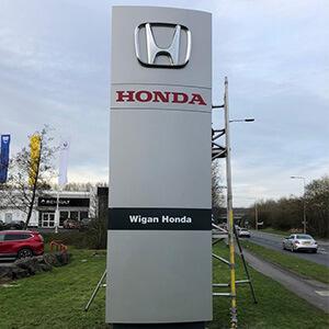 Honda Totem After Spraying