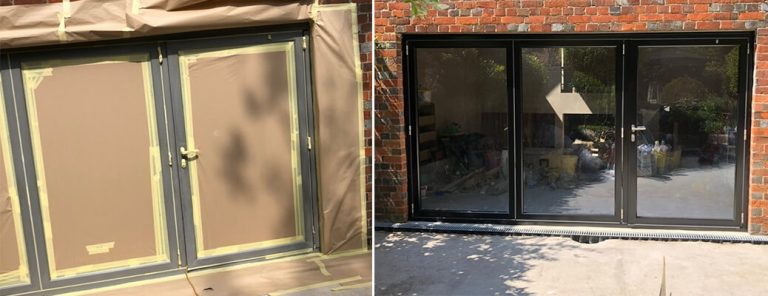 Bi-Folding Door Respray- Oxford