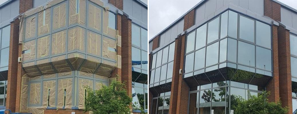 Full Building Respray – Winterhill, Milton Keynes