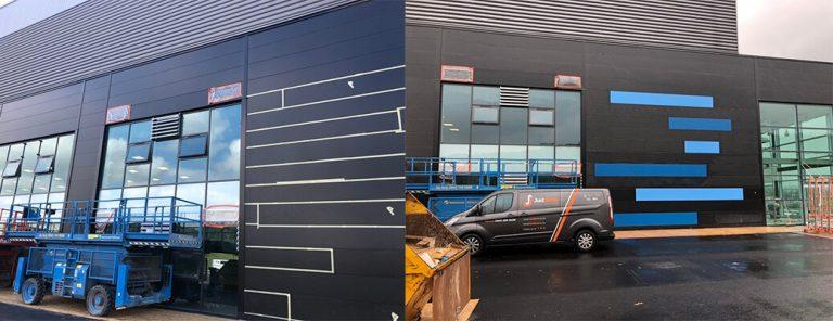 Micro Rib Panel Repair & Respraying, Custom Colour Spraying – Sheffield