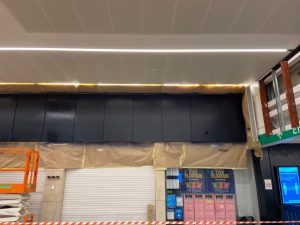 Wet paint on panels