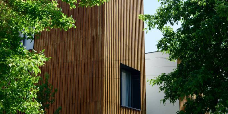 Timber Cladding Building