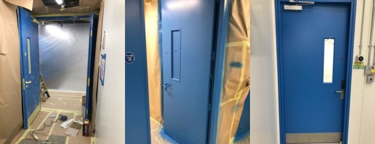 Data Centre Internal Door Spraying – Welwyn Garden City