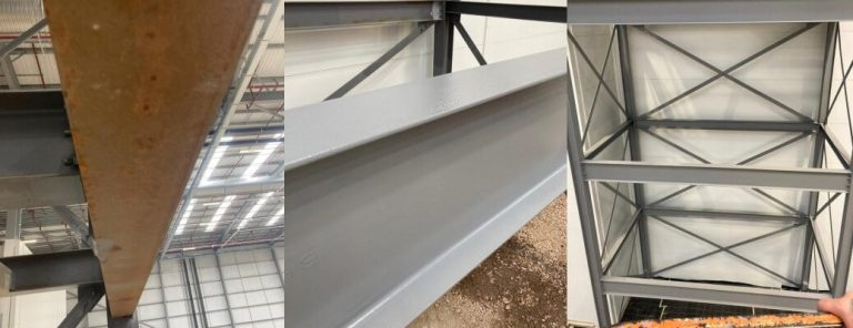 Steel Staircase Respray – Daventry