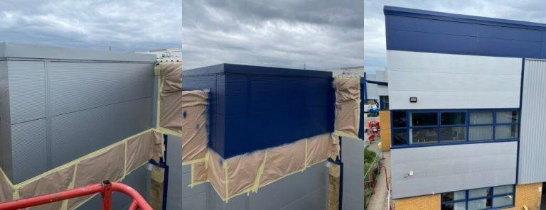 Cladding Panel Colour Change – Warrington