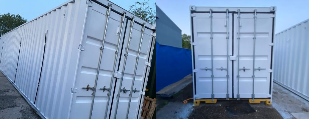 Shipping Container Respray – Colchester