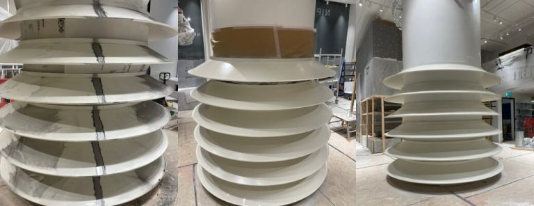 Repairs & Respray For Onitsuka Tiger – Regent Street, London