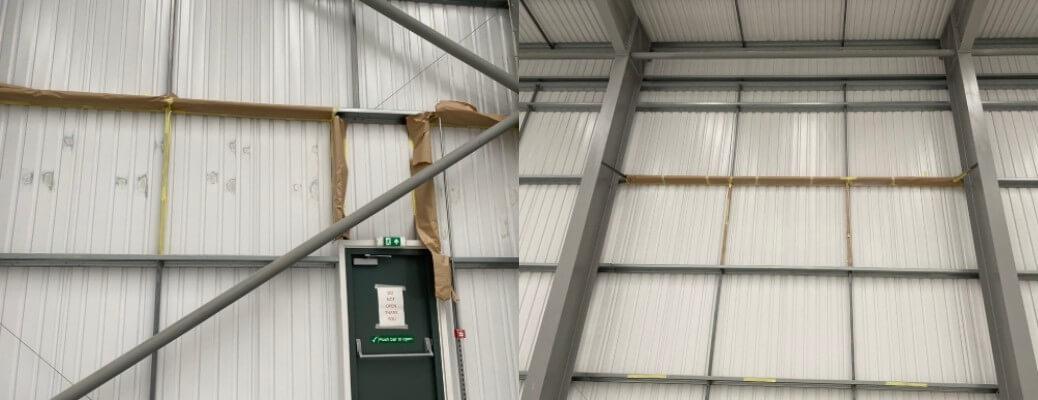 Warehouse Panel Repairs – Wales