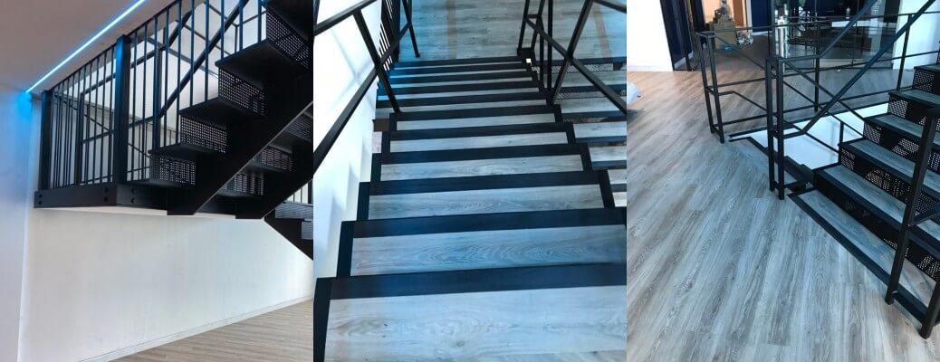 Prepare, Repair & Respray Of A Featured Staircase – Milton Keynes