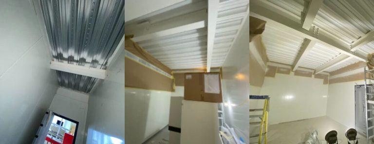 Mezzanine Underside Spraying – Basingstoke (Part 2)