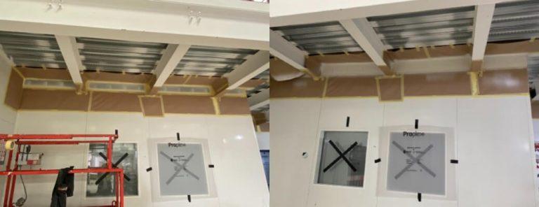 Internal Flashings Repairs & Spraying – Basingstoke (Part 1)