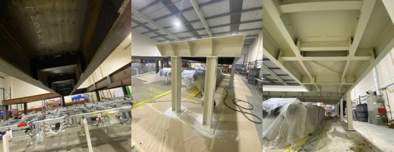 Structural Steelwork Spraying – Leicestershire