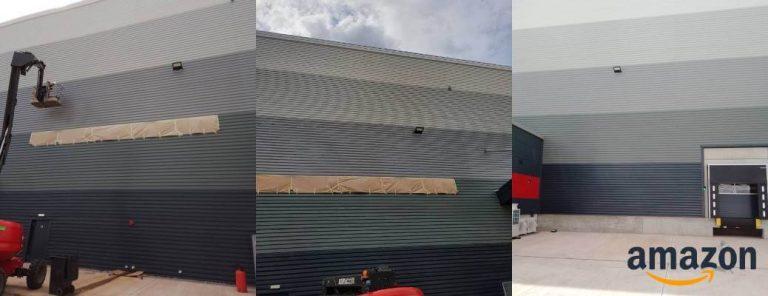External Micro Rib Cladding Repair – Amazon, Redditch