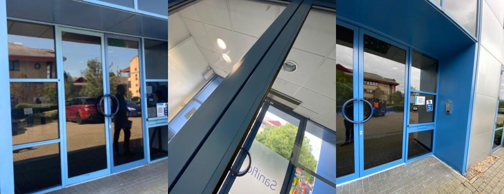 Entrance Door Respray – Watford